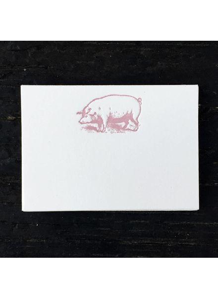 Piggy Petite Card (10 pk)