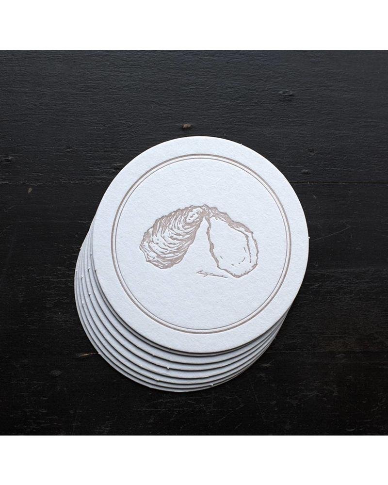 Oyster Coasters (8 pack)