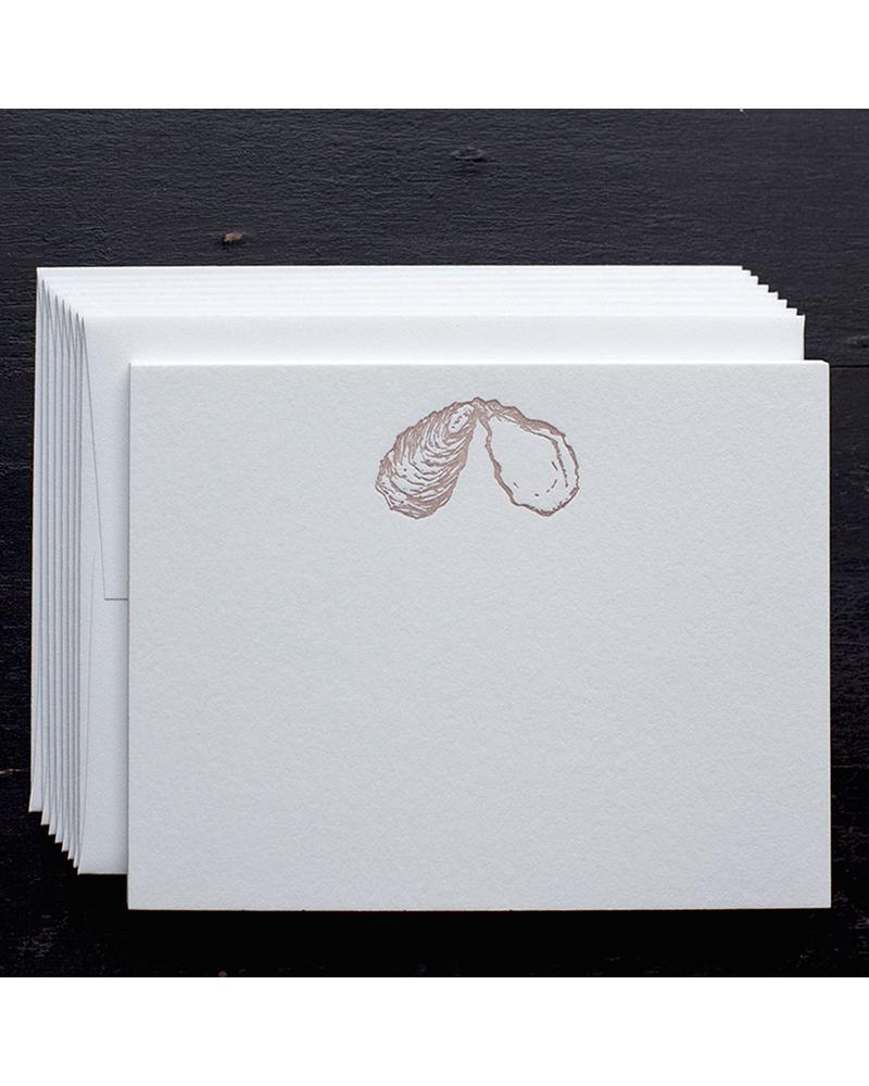 Oyster Shell Note Cards