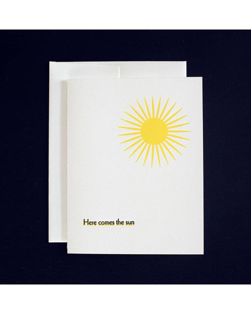 Here Comes the Sun Card