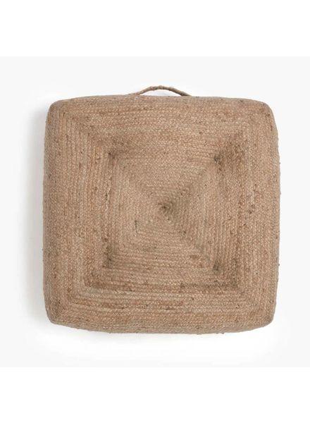Woven Floor Pillow, Natural (Single)