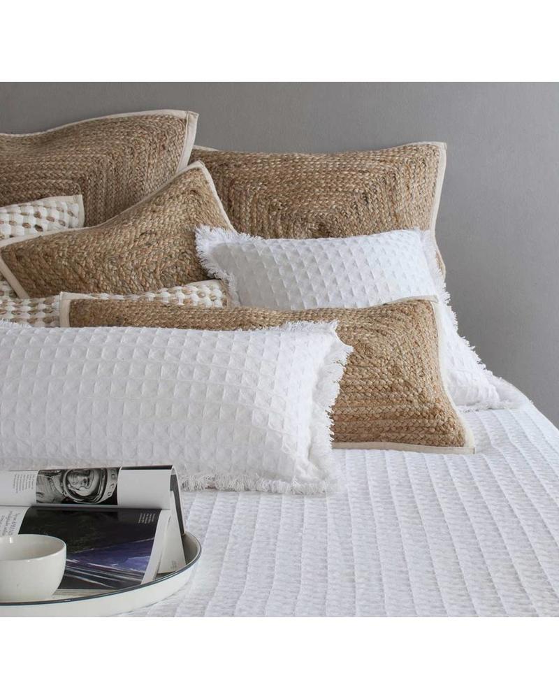 """Woven Pillow  (18"""" x 18""""), Natural"""
