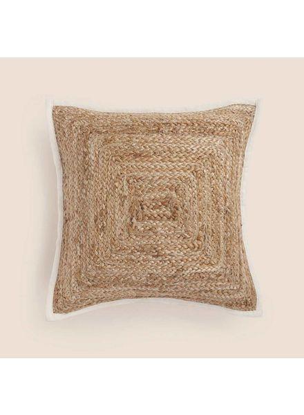 """Woven Pillow (32"""" x 32""""), Natural"""