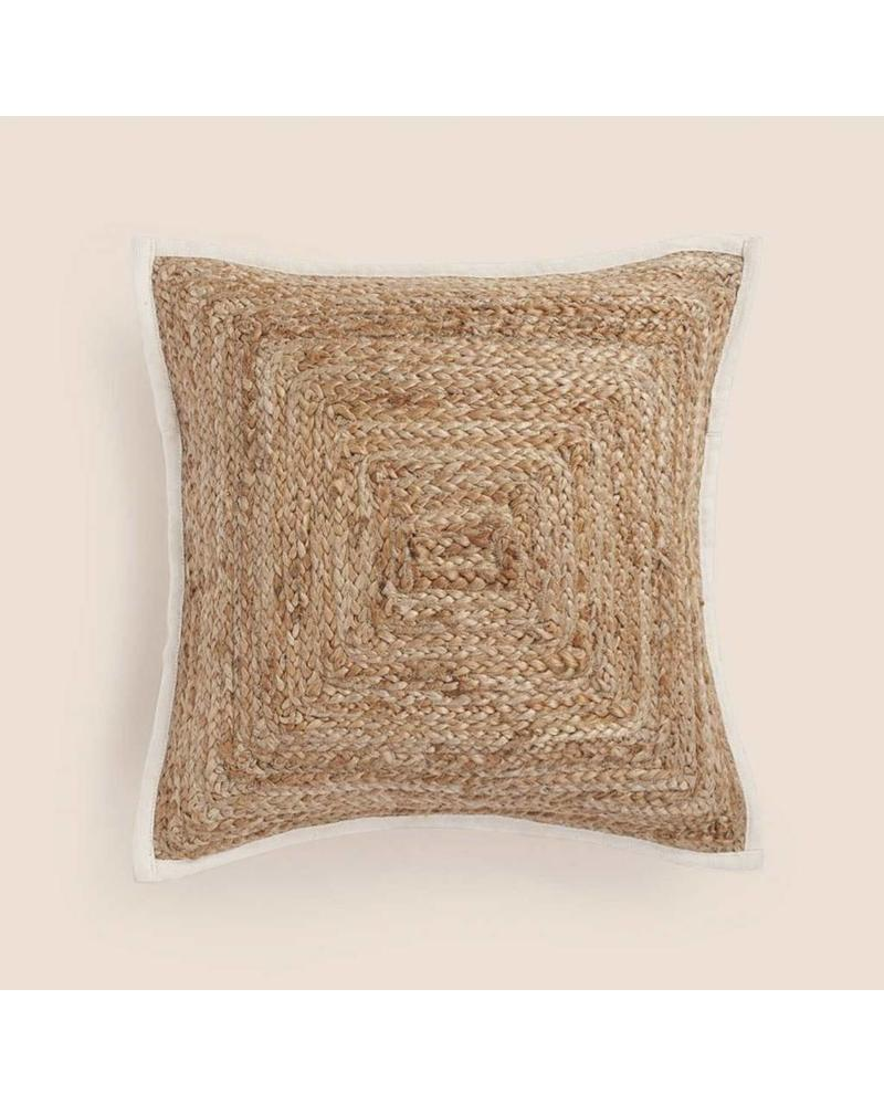 "Woven Pillow (32"" x 32""), Natural"
