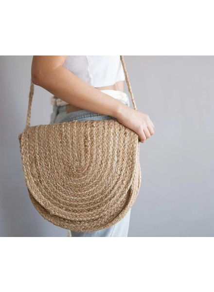 Woven Purse, Natural