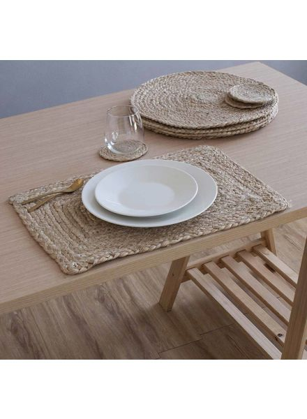 Woven RECTANGLE Placemat, Natural