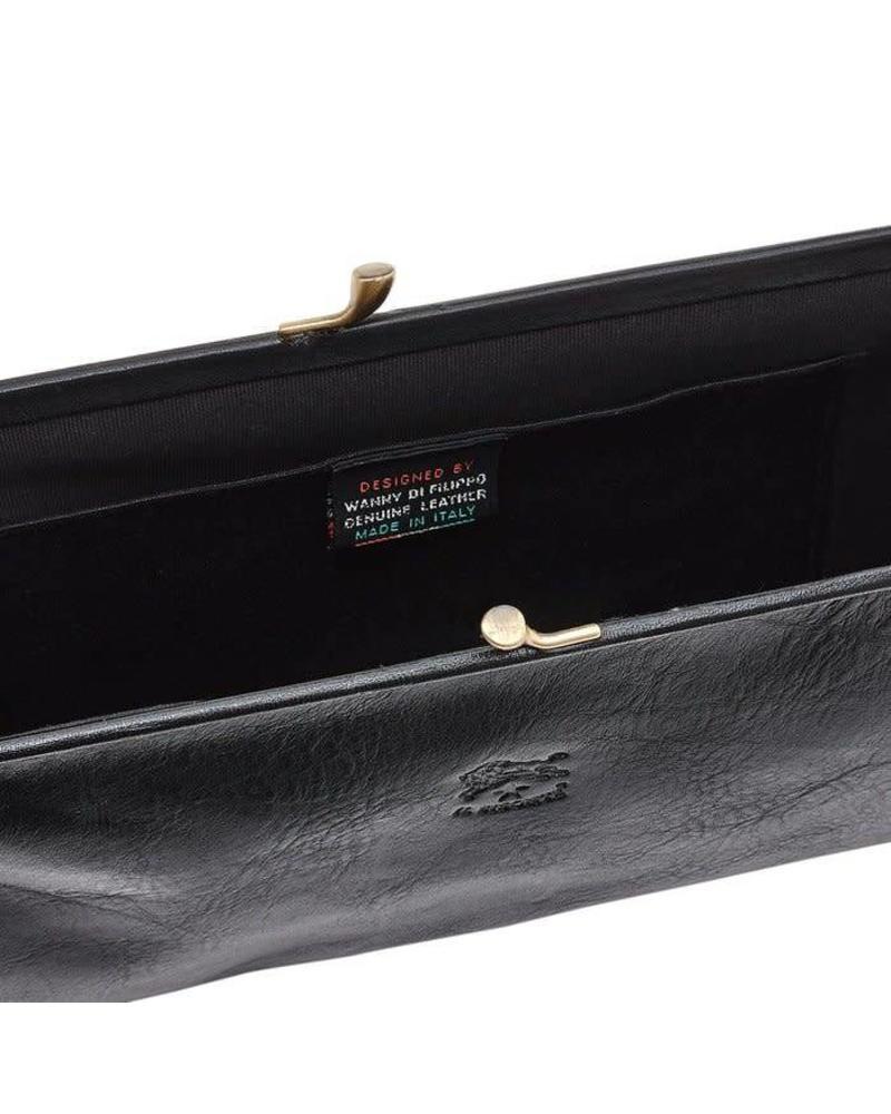 Cowhide Beauty Case (C0533.P)-Nero