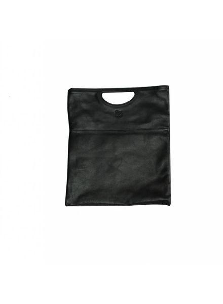 Cowhide Handbag (A2447.P)-Nero