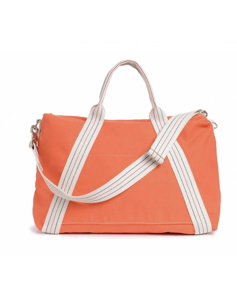 CANVAS DUFFLE ORANGE