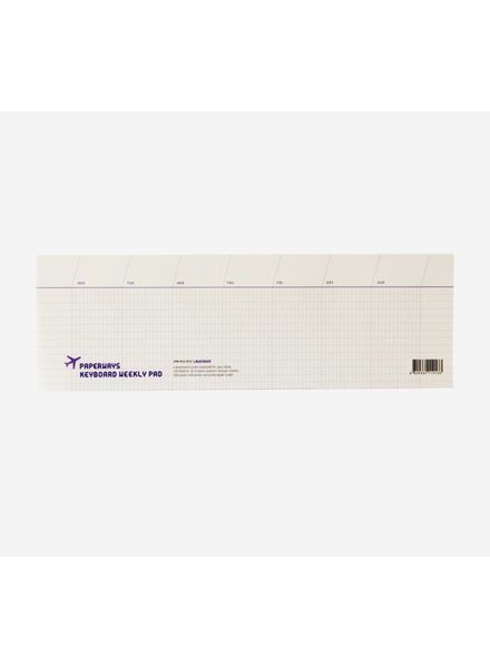 Keyboard Weekly Pad - Lavender