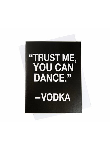 You Can Dance, Greeting Card