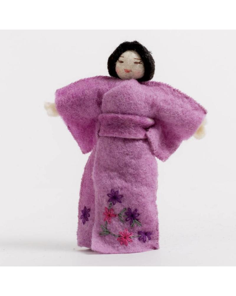 Ancient World: Geisha Purple Ornament