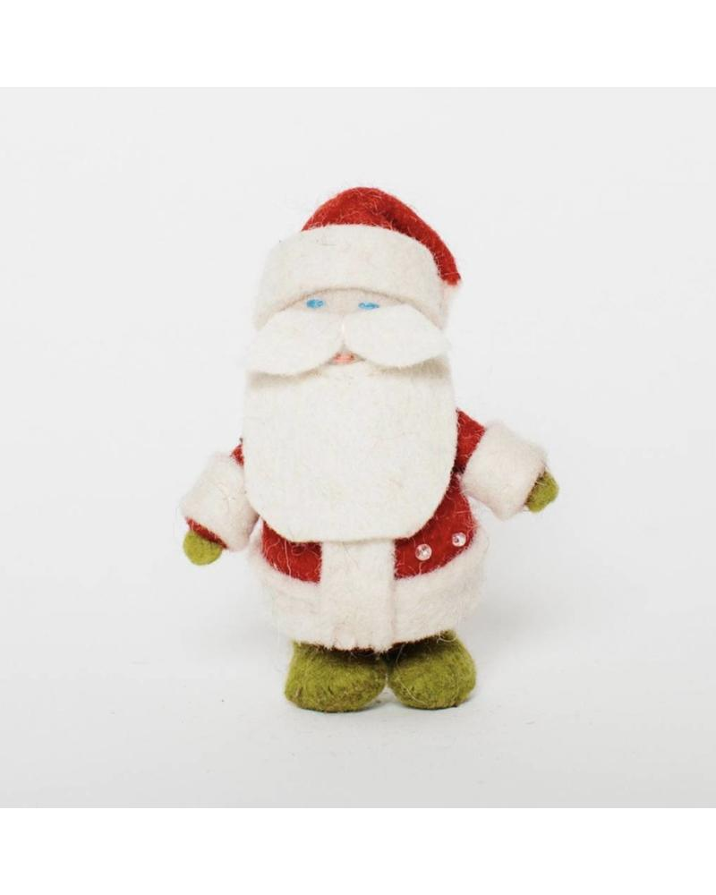 Holiday Angels: Ho Ho Santa Ornament