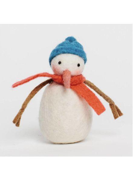 Sunny Day Snowman Ornament