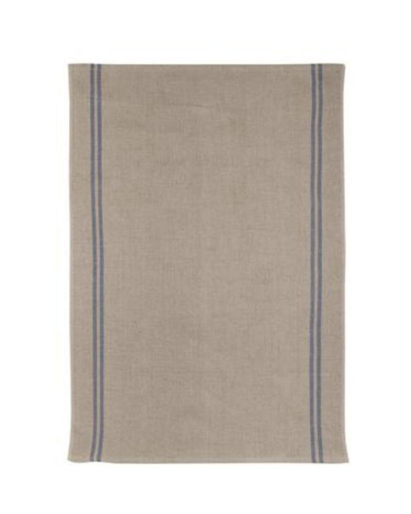 Country Blue Tea Towel