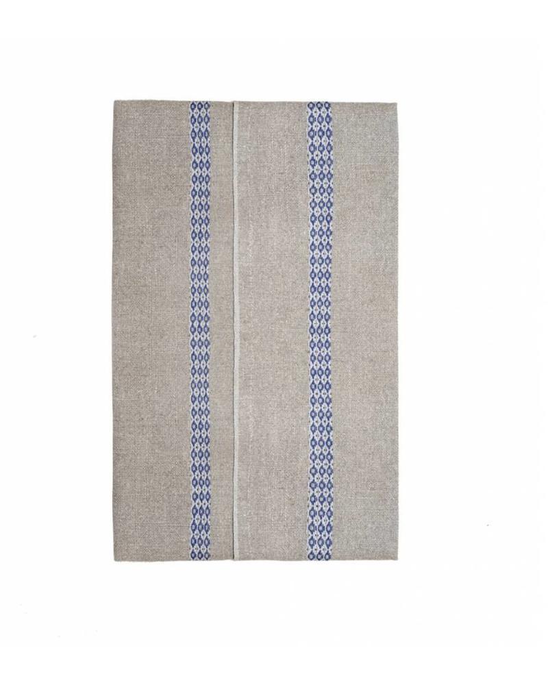 Mosaique Blue Tea towel