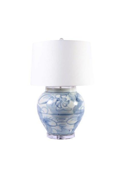 Blue and White Silla Lamp