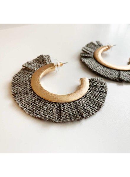 Fabric Hoops- Gray