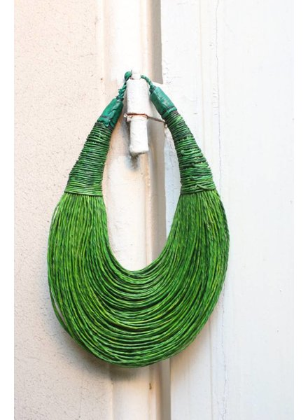 Green Strand Collar- Short
