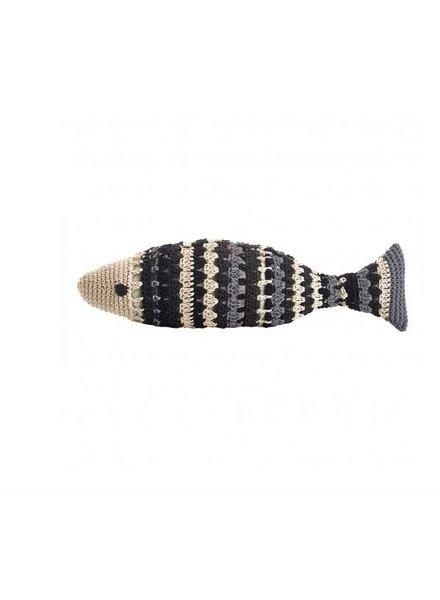 Large Crochet Fish- Jacquard