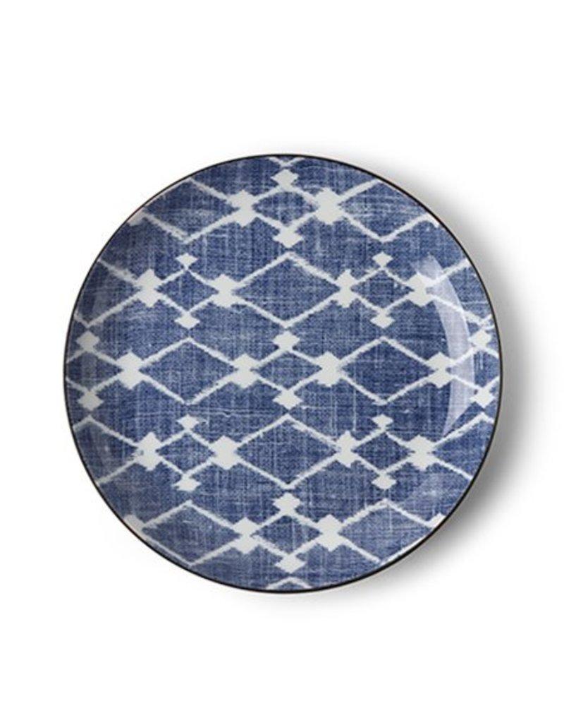 "Aizome Hishi 8.5"" Plate"