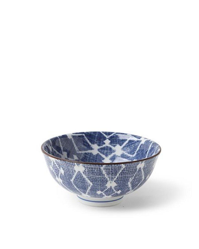 """Aizome Hishi 4.5"""" Rice Bowl"""