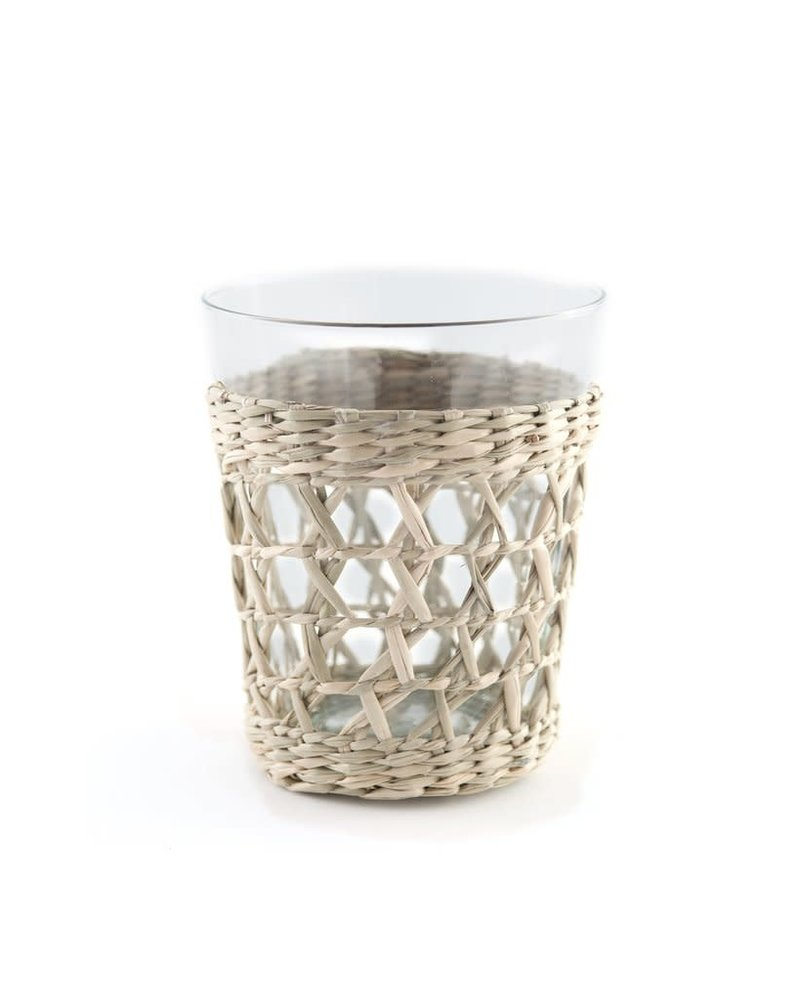 Seagrass Wide Cage Tumbler