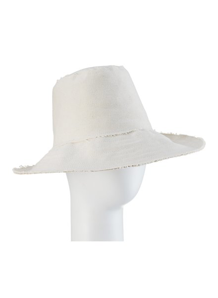DUNE: Asymmetrical Fedora- Natural Stitch