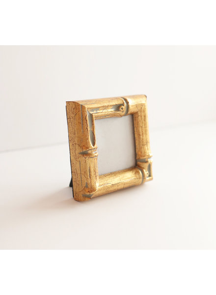 2x2 Gold Bamboo Frame