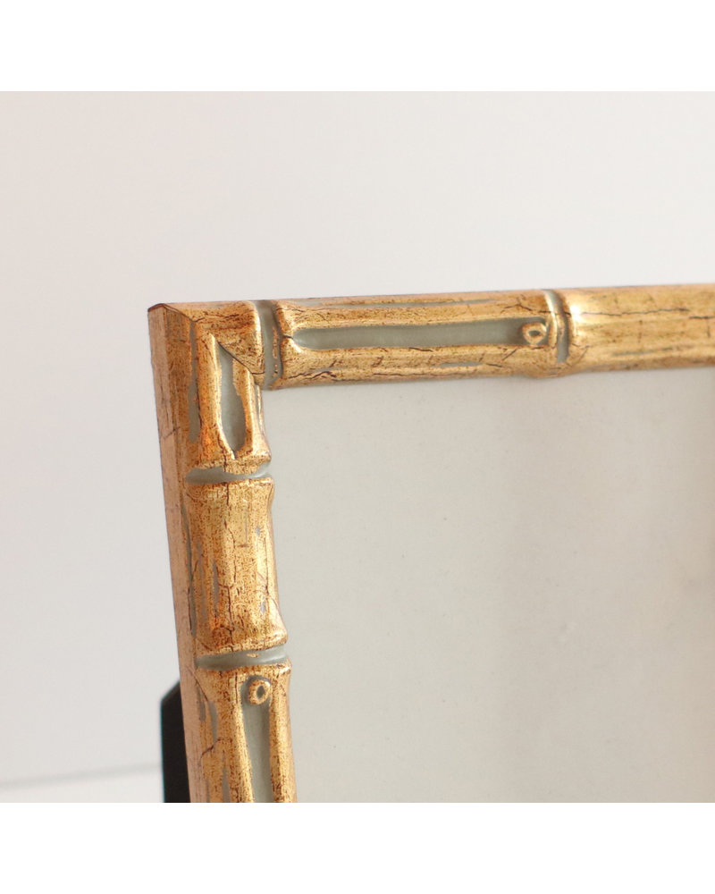 4 x 4 Gold Bamboo Frame