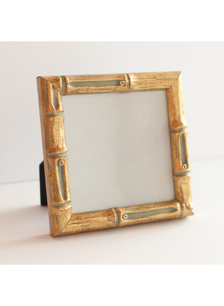 5 x 5 Gold Bamboo Frame
