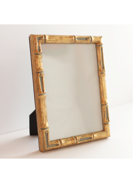5 x 7 Gold Bamboo Frame