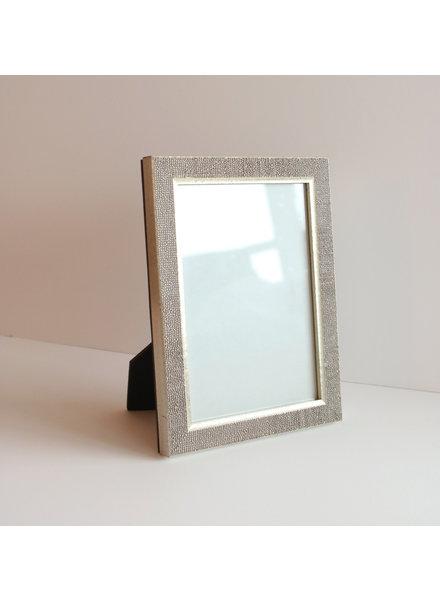4 x 6 Silver Raindrops Frame