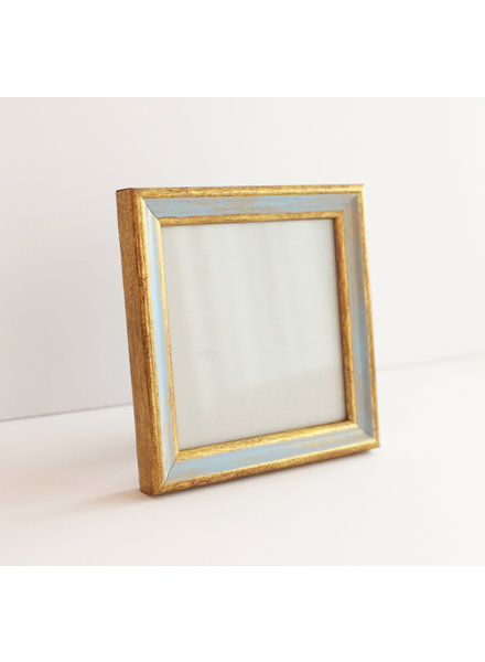 4x4 Traditional Blue/Gold Frame