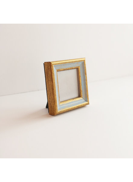 2x2 Traditional Blue/Gold Frame
