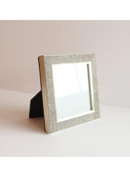 4 x 4 Silver Raindrops Frame