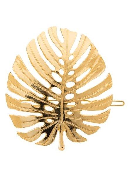 Palm Leaf Barrette