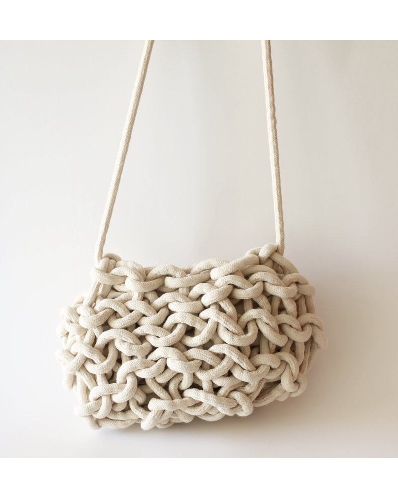 """Nadia"" Rope Bucket Bag"