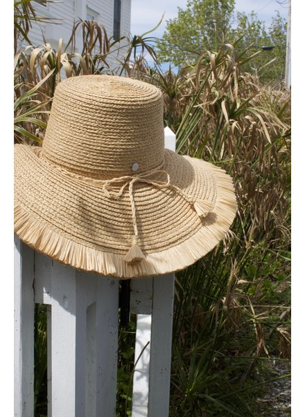 FRISEE: Sun Hat, Reed, Natural