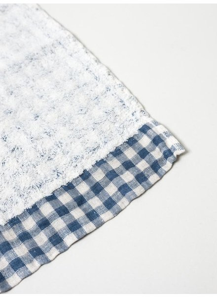 Lino Hand Towel- Navy