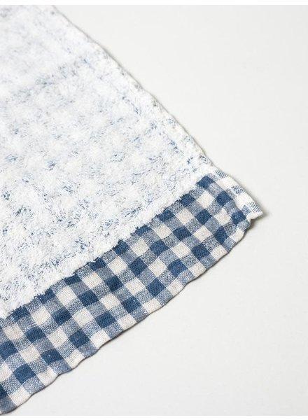 Lino Washcloth- Navy