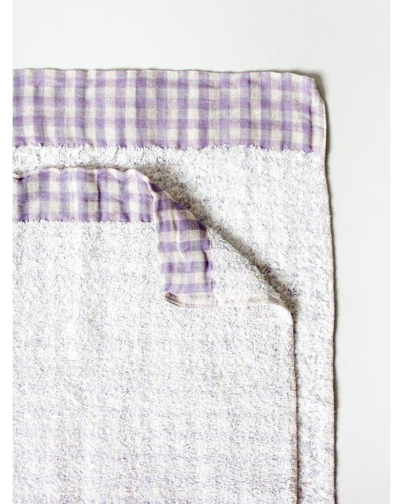 Lino Hand Towel- Lavender