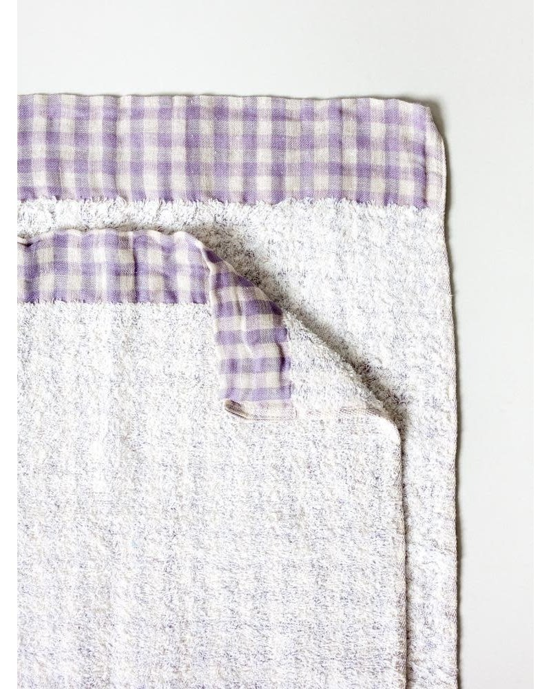 Lino Washcloth- Lavender