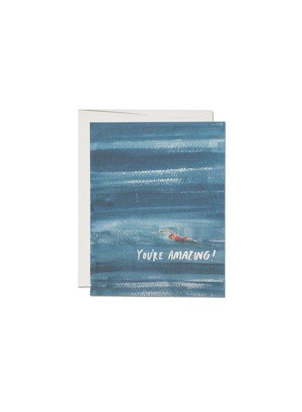 You're Amazing, Swim Greeting Card