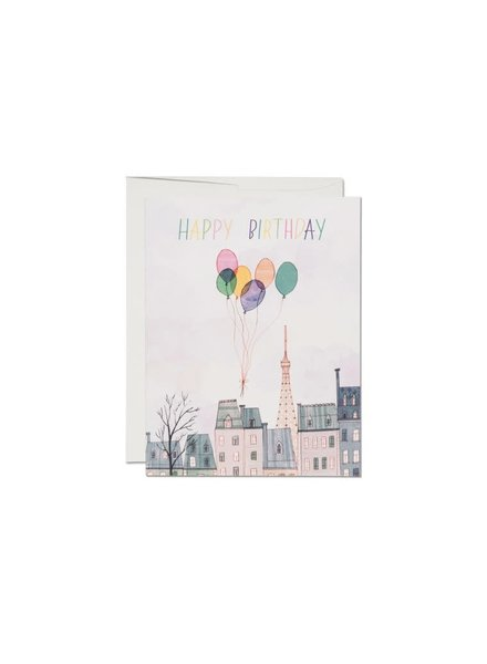 Happy Birthday, Paris Greeting Card