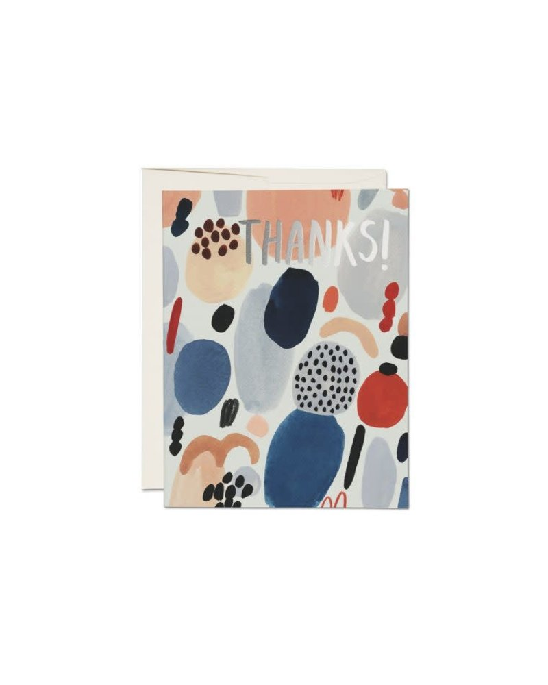 Paint Palette, Thanks! Greeting Card