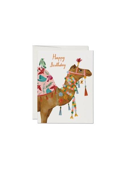 Happy Birthday, Camel Greeting Card