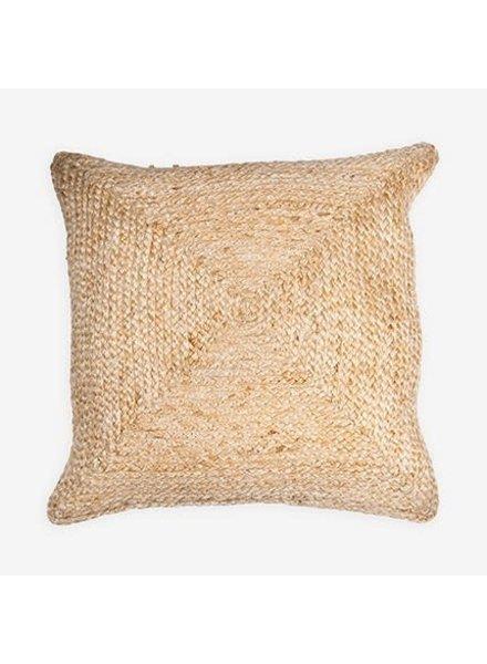 "Braided Natural Pillow 22"" x 22"""