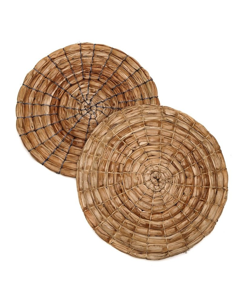 Wrapped Palm Placemat- Natural