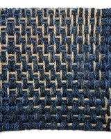 Sala Sala Braided Placemat- Navy